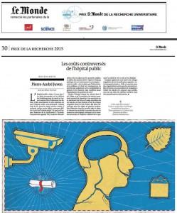 Le Monde 19 nov 15